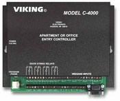 Viking Electronics C-4000 250 Unt Aprt/Office Entry System 4 Entry PN