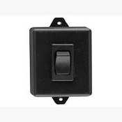 Camden CM-840 Plastic Box (Black) Spst Maintained