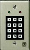 Corby Industries 4020 Single Flush Mount Keypad Green/Red Led