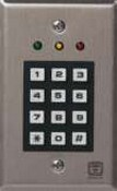 Corby Industries 6530 - Programmable Keypad Indoor 3 Leds, 165 Users