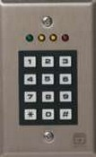 Corby Industries 6540 Pro Keypad Indoor 4 Leds, 165 Users
