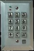 Corby Industries 7066 Indoor/Outdoor Single Code Keypad