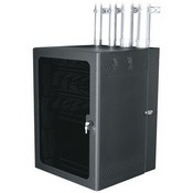 Middle Atlantic CWR-26-26PD CableSafe Cabling Wall Mount Rack with Plexi Door (24