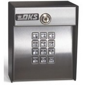 Door King 1506-082 Doorking Keypad, DKS 50 Memory Digital Keypad Entry Programmable - Surface Mount