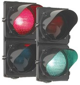 Door King 1603-210 Traffic Light With Mount Post