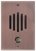 Channel Vision DP-0262 Telephone Intercom Door Unit - Antique Copper Finish