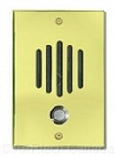 Channel Vision DP6222 Polished Brass Door Plate with Color Camera