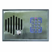 Channel Vision DS3-0302 Telephone Entry Door Intercom with Keypad - Satin Nickel Finish
