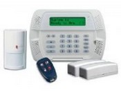Tyco Safety Products KIT44712CP01NT DSC Self Contained Wireless Alarm System – 9047