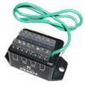 Ditek DTK8LVLPSCPD 8 Pair - 6v- Terminal Strip - 16-22 Awg - 150ma Self Resettable Fuse Low Voltage Voice/Data