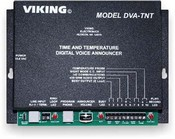 Viking Electronics DVA-TNT Digital Time And Temp Annc With24 Hr Clk
