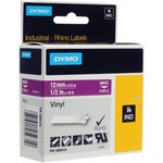 Dymo - 1805415 Dymo 1805415 Vinyl Label, White On Purpl