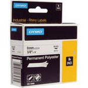 Dymo 18482 White Permanent Poly Labels (3/8