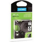 Dymo 41913 Standard D1 Labels (Black Print, White Tape - 3/8