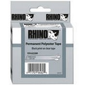 Dymo 622289 Clear Permanent Poly Labels (1/2