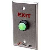 Dynalock 6172 Faceplate Silkscreened Weatherproof Pushbutton