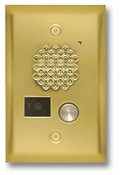 Viking Electronics E-50-PB Video Entry Phone - Polished Brass