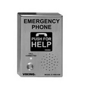 Viking Electronics E160003B Emergency/Elevator Handsfree Phone. Stainless Steel