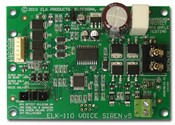 ELK ELK-110 Voice, Siren Driver With Temporal Coded Bell