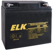 ELK ELK-12180 Battery, Lead Acid 12V-18.0Ah