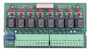 ELK ELK-M1RB Relay Board, 8 Form C, Connects To M1, M1XOVR, or M1XOV