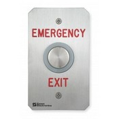 Essex PEBSS4US Single Gang Exit Button Emergency Exit