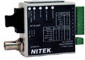 Nitek FTS312104S00 1 Channel Video & Data Transmitter & Bi-directional Data & Aux Comm