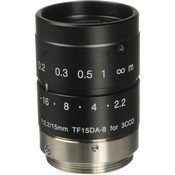 Fujinon TF15DA-8 1/3-Inch CCD 15mm, f/2.2 Fixed Focal Length Manual Iris C-Mount Lens for Machine Vision and Robotics