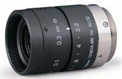 Fujinon TF8DA-8 8mm f/2.2 C-Mount Lens for 1/3-Inch 3-CCD Industrial Cameras, with Manual Iris and Focus