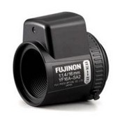"Fujinon YF16ASA2L 1/3"" Fixed Focal Length Lens, 16mm, F1.4, DC Auto Iris"