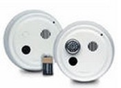 Gentex 9120H 120VAC Photoelectric Smoke Alarms Continuous 90dBA Piezo Sounder with 9VDC Battery Back-up