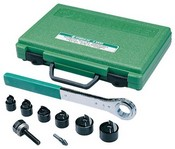 Greenlee-Textron 36693 Manual Slug-Buster Knockout Punch Kit, Metric, ISO-16 Through ISO-63
