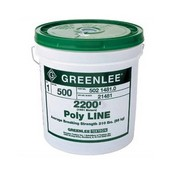 Greenlee-Textron 37959 Rope-Polylline 2200'X500LBS (37959)