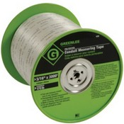 Greenlee-Textron 435 Conduit Measuring Tape 3000 ft x 3/16
