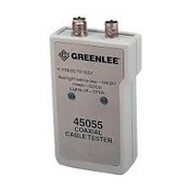 Greenlee-Textron 45055 Battery Operated Coaxial Cable Tester