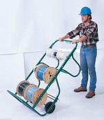 Greenlee-Textron 911 Cart, Wire Reel
