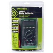 Greenlee-Textron DM-200 Digital Multimeter-OB