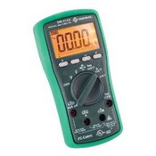 Greenlee-Textron DM-210A Digital Multimeter With Auto and Manual Ranging Operation and Non-Contact Voltage Detection