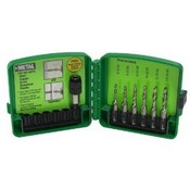 Greenlee-Textron DTAPKIT 6-32 to 1/4-20 6-Piece Combination Drill and Tap Set