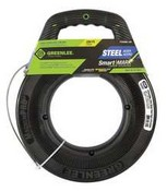 Greenlee-Textron FTS438DL250 Fish Tape 1/8 In x 250 ft. w/Leader