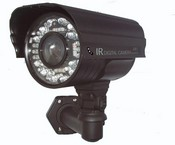 "Golden State Instrument GS-670-SMFOCB 1/3"" CCD Ultra High 580 TVL 2.9-8.5mm Auto-Iris Smartfocus Lens Day/Night IR Weatherproof Bullet Camera"
