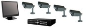 Golden State Instrument GS-CCTV-PK2 CCTV All-in-One Kit - Bullet Cameras