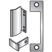 Hes TD630 Satin Stainless Steel 1006 Faceplate for HES 1006 Series Electric Strikes for Use with Mortise Lockset with 1 Inch Deadbolt and Center-Lined Deadlatch TD