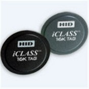 HID 2060CSSNN iClass Tag 2K/2 Configured F-HID Logo, No Slot