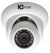 Ic Realtime ICIPD1300IR 1.3 Megapixel HD Network IR Dome Camera