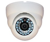 IC Realtime ICR-200W 600TVL IP55 20IR 3.6mm Fixed Dome (White)