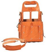 Ideal Industries 35-969 Tuff-Tote Tool Carrier Prem. Leather