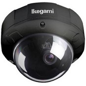Ikegami ISD-A35-92BLACK Type 92 Vandal-Resistant Hyper-Dynamic Dome Camera (Black)