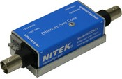 Nitek IPCOAX1 IP Camera Over Coax, 10/100 Gbit, Single