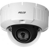 Pelco IS51-DWSV8F Camclosure-2 Outdoor Rugged SD5 Day/Night Mini Dome Camera w/Clear Bubble, Flush, NTSC